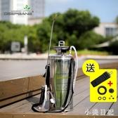 進口不銹鋼噴霧器農用噴藥打藥機氣壓式高壓力小型打農藥桶噴霧瓶LXY3841【小美日記】