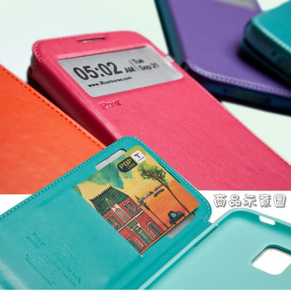 【Roar】ASUS Zenfone 3 ZE552KL 5.5吋 Z012DA 吸合視窗皮套/書本翻頁式側掀側開插卡/斜立支架保護套
