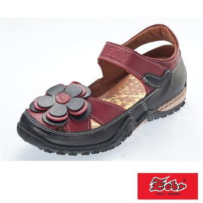 ZOBR路豹  真皮休閒娃娃鞋涼鞋款 BA38系列