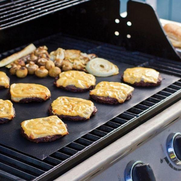 [拉拉百貨] 美國超熱銷 買一送一 不沾黏 烤肉墊 無煙燒烤墊 烤肉墊 烘培紙 餅乾烘培 烤肉架