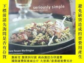 二手書博民逛書店Seriously罕見Simple: Easy Recipes