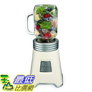 [美國直購] Oster BLSTPB-BALL-W 梅森聯名 隨鮮瓶 果汁機 Blend N Go Mason Jar Blender with (2) 20 oz. 白色