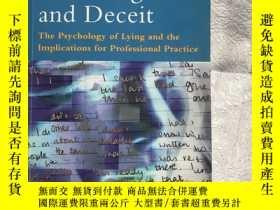 二手書博民逛書店Detecting罕見Lies and Deceit(發現謊言和