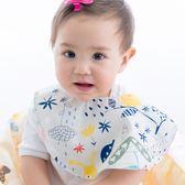 Cutie Bella印花布 純棉 防水圍兜/口水巾-Forest 森林