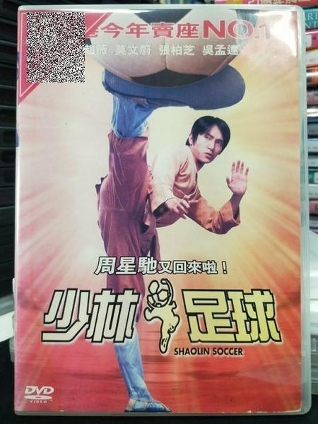挖寶二手片-Z82-059-正版DVD-華語【少林足球】-周星馳 趙葳(直購價)經典片 海報是影印
