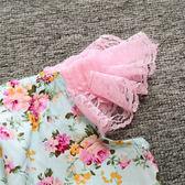 萬聖節狂歡 嬰兒童裝 女童蕾絲碎花全棉寶寶哈衣爬服~