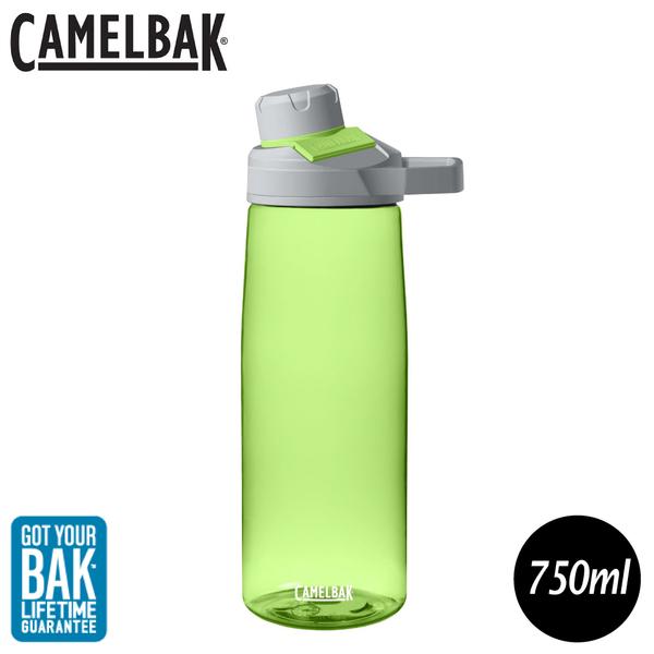 【CamelBak 美國 750ml Chute Mag戶外運動水瓶《萊姆》】1512301075/水壺/隨身瓶