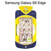優雅系列電鍍邊框透明殼 [繁花] Samsung G9250 Galaxy S6 Edge