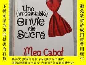 二手書博民逛書店Une罕見(Irrésistiblr) Envie De Sucré法文法語法國Y385290 Meg Cab
