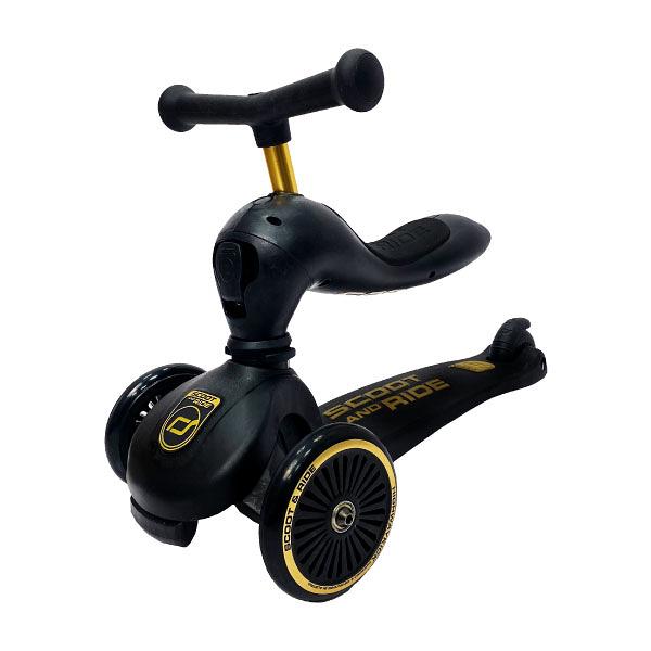 『輸入RE300 現折300』奧地利 Scoot & Ride Cool飛滑步車/滑板車(限量黑金)
