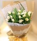 純白愛戀--情人花束.生日花束.聖誕花束