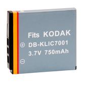 Kamera Kodak KLIC-7001 高品質鋰電池 M1073 IS V550 V570 V610 V630 V705 保固1年 KLIC7001 可加購 充電器