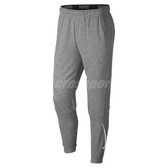 Nike 長褲 DRI-FIT fleece tapered pants 灰 白 男款 刷毛 束口褲 【PUMP306】 932246-063