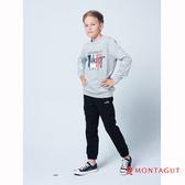 童裝親子裝T恤 夢特嬌 灰色法國國旗字母款 90-110cm