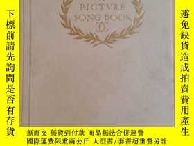 二手書博民逛書店【包罕見】A Picture Song Book,Earl of
