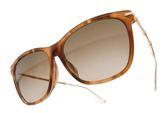 GUCCI 太陽眼鏡 GG3793FS HQXJ6 (木紋棕金) 經典品牌方框墨鏡 # 金橘眼鏡