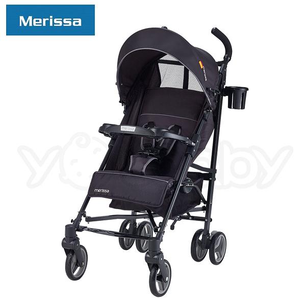 美瑞莎 Merissa EB-18  Buggy 行動休旅嬰兒手推車-幸運黑