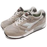 DIADORA 復古慢跑鞋 N9000 NYL 灰 白 麂皮鞋面 經典款 潮流時尚 運動鞋 男鞋 女鞋【PUMP306】 DA160827C5746