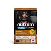 寵物家族-[輸入NT99享9折]紐頓Nutram-T27無穀迷你犬火雞2KG