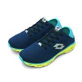 LIKA夢 LOTTO  風動健走輕跑鞋 AIR FLOW-R 系列 藍螢綠 5506 男