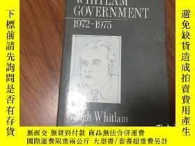 二手書博民逛書店The罕見Whitlam Government 1972-197