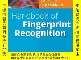 二手書博民逛書店Handbook罕見Of Fingerprint RecognitionY256260 Jain, Anil