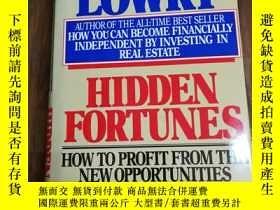 二手書博民逛書店Hidden罕見Fortunes: How to Profit
