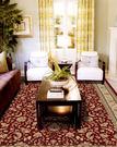 范登伯格 克拉瑪 高密度貴族世家地毯/地墊-御花園(紅)170x230cm