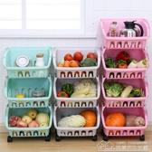 廚房收納神器宿舍寢室客廳水果蔬菜置物架落地多層儲物架菜筐籃子 【快速出貨】YYJ