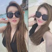 女2018新款太陽眼鏡個性女士年人墨鏡正復古圓臉潮圓形