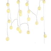 USB星星燈串-裂紋球(黃光)