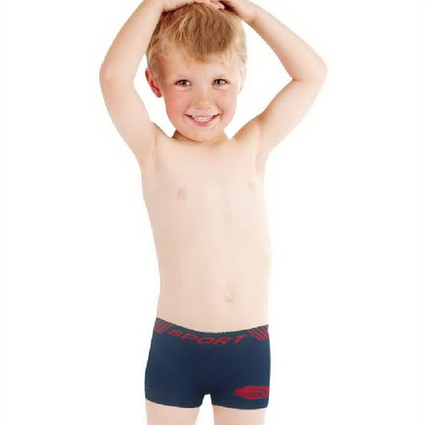 艾森豪超無感涼爽男童無縫內褲6件組5063  (隨機選色) 兒童內褲