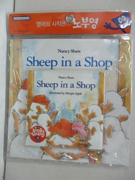 【書寶二手書T1/少年童書_DW3】Sheep in a Shop_附光碟_Nancy shaw