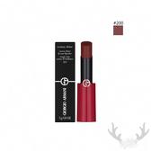 GIORGIO ARMANI 奢華訂製緞光水唇膏#200 3g 即期良品 (國際航空版)