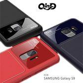 QinD SAMSUNG Galaxy S9 爵士玻璃手機殼 保護殼 保護套 防摔