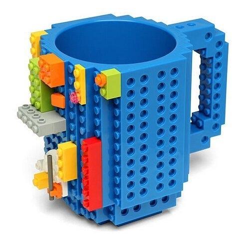 【發現。好貨】美國 聖誕禮物 Lego樂高積木 創意 DIY組裝 積木 馬克杯 咖啡杯子 DIY杯子