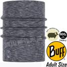 BUFF 117821.952 Wool保暖快乾魔術頭巾(加厚) 美麗諾羊毛 美麗諾羊毛 防臭脖圍/自行車圍巾/排汗領巾