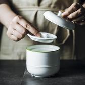 歐式陶瓷隔水雙蓋燉盅燕窩燉蠱帶蓋家用湯盅蒸蛋盅燉盅碗煲湯燉罐