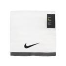 Nike 毛巾 Fundamental Towel 白 黑 運動毛巾 大浴巾 純棉 運動 籃球 【PUMP306】 N100152210-1LG