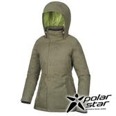 PolarStar 女 防水羽絨外套 『墨綠』P15224