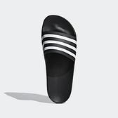 Adidas Adilette Aqua [F35543] 男女 運動 涼鞋 拖鞋 休閒 舒適 輕量 愛迪達 黑白