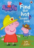 Peppa Pig:Find The Hat Sticker Book 佩佩豬的帽子 貼紙書