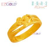 甜蜜約定金飾 ♥萬馬奔騰♥ 黃金戒指