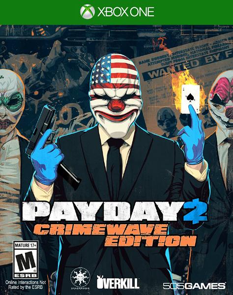 X1 Payday 2 Crimewave 劫薪日 2(美版代購)