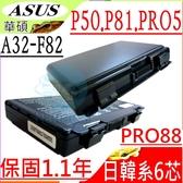 ASUS 電池-華碩 電池- P50,P81,PRO5,PRO5C,PRO5D,PRO5E,PRO79,P81IJ,PRO8BIJ,PRO88,PRO65,PO66I