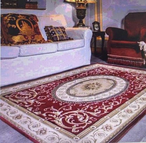 [COSCO代購] W132340 歐州皇室家族比利時進口地毯-巴洛克 紅 200 X 290公分