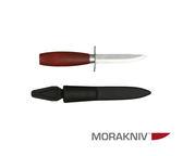 丹大戶外用品【MORAKNIV】瑞典 高碳鋼經典木工刀 赭紅 1-0601