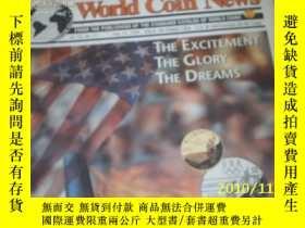 二手書博民逛書店World罕見Coin News(Vol.22,No.17)(A