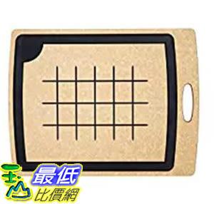 [106 美國直購] Epicurean 005-20150102 美國製 砧板 Carving Series Cutting Board, 19.5-Inch by 15-Inch, Natural/Slate
