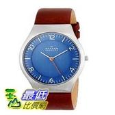 [104美國直購] Skagen 男士手錶 SKW6112 Grenen Quartz 3 Hand Stainless Steel Dark Brown Watch $3429